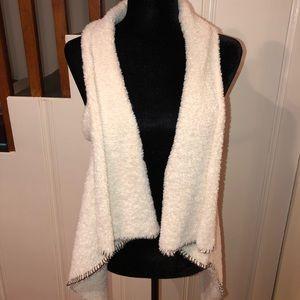 Sherpa style vest